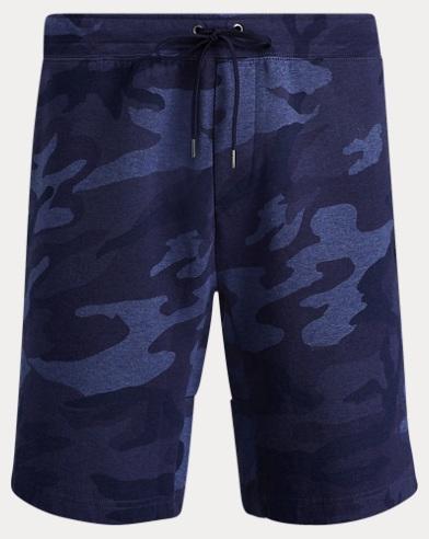 Camo-Shorts aus Baumwollmischung
