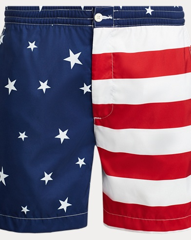 Polo Ralph Lauren. 7-Inch Monaco Striped Trunk. $85.00. Flag Polo Prepster  Trunk