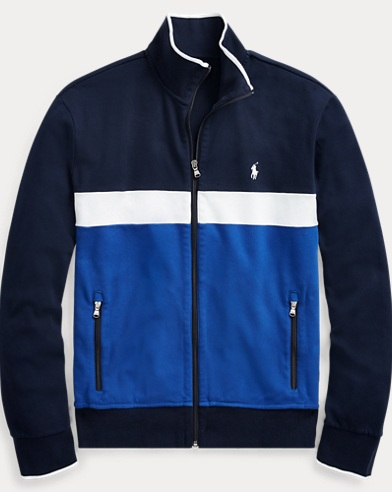 Cotton Interlock Track Jacket
