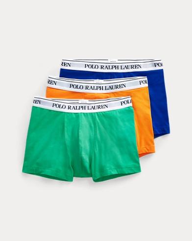 Tre paia di boxer in cotone stretch