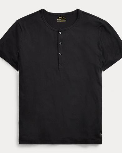 Lightweight Henley Sleep Shirt