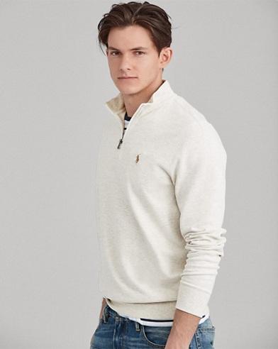 Pullover in pregiato jersey