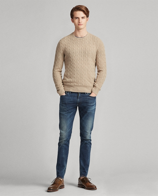 c4ba7deee Cable-Knit Cashmere Sweater
