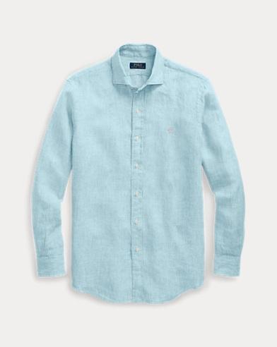 Camicia in lino Classic-Fit