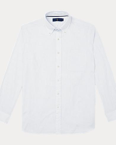 Camicia in seersucker Classic-Fit