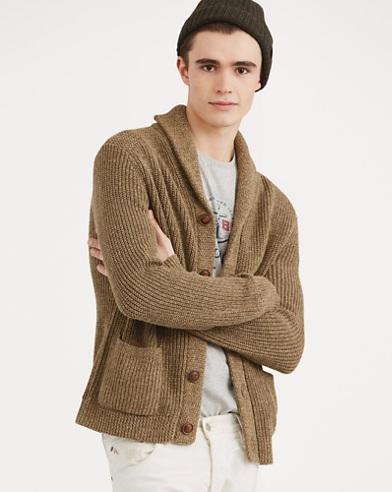 749407de60cfe Cotton-Linen Shawl Cardigan