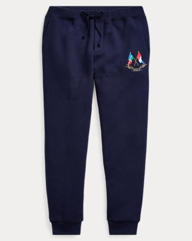 Pantaloni jogging in misto cotone