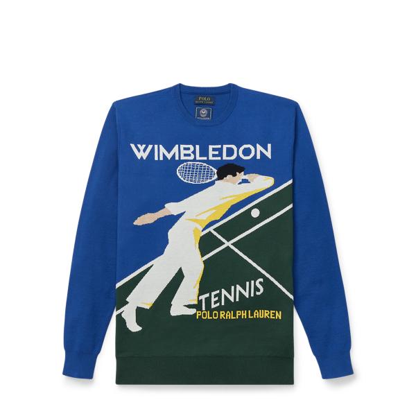 Ralph Lauren Wimbledon Graphic Sweater Wimbledon Poster Print M