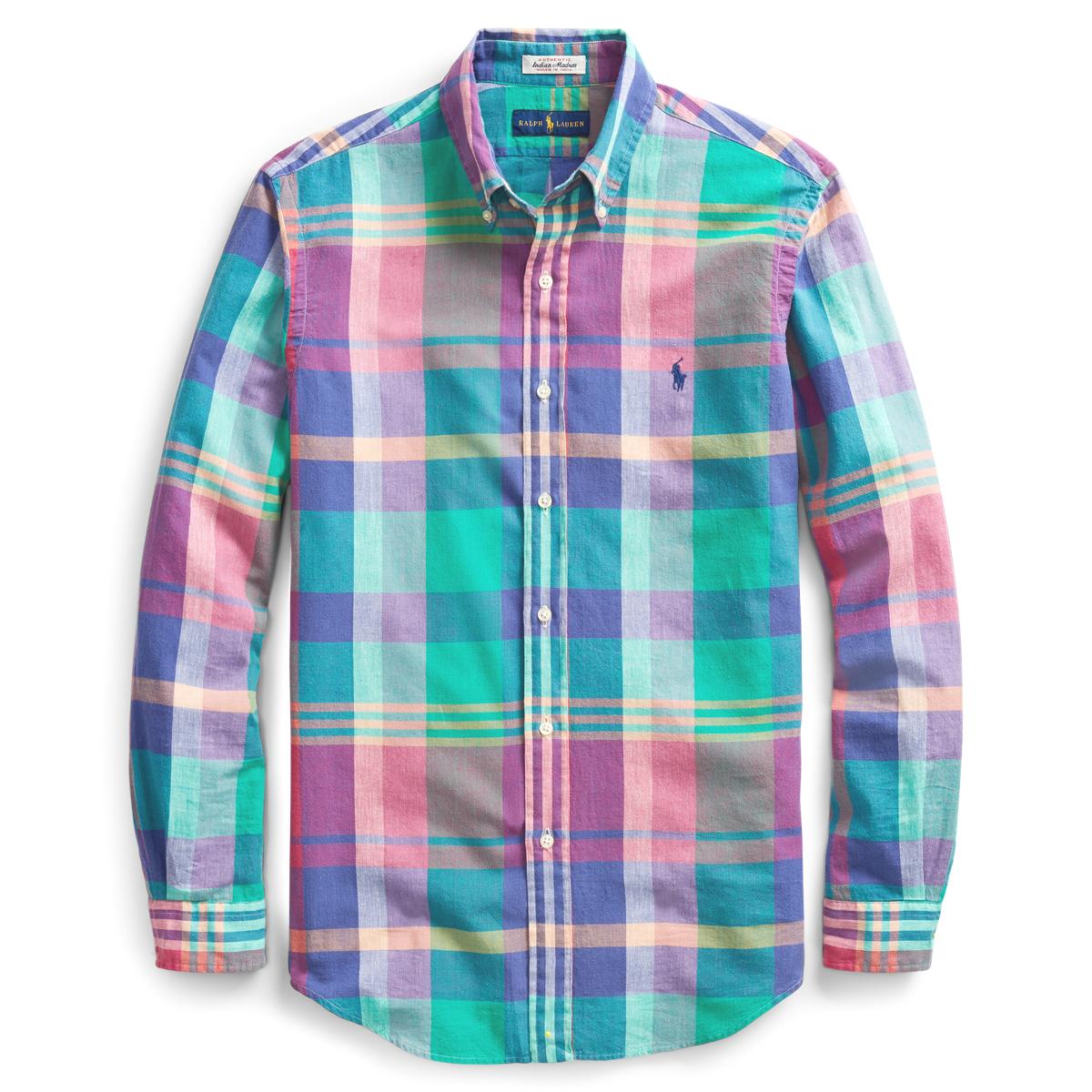 52b42719 Classic Fit Madras Shirt | Ralph Lauren UK