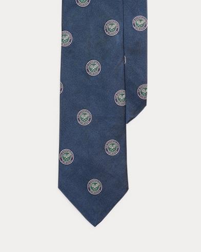Cravate Wimbledon en reps de soie