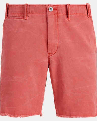 Short in cotone Straight-Fit