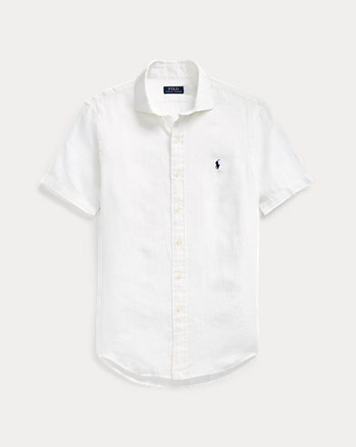 Classic Fit Linen Sport Shirt