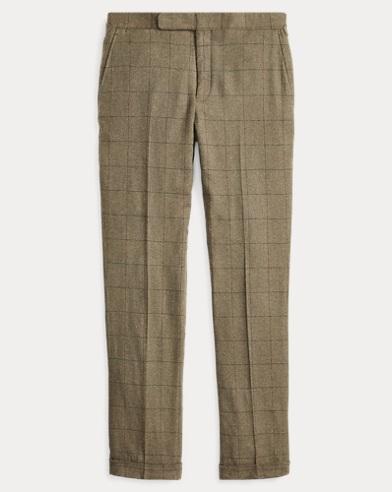 Polo Windowpane Suit Trouser
