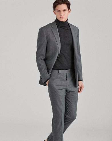 Polo Textured Wool Suit