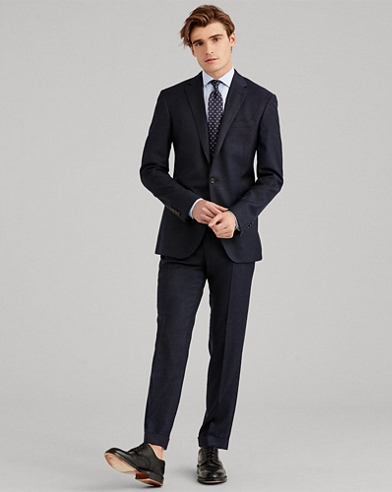 Polo Nail-Head Wool Suit