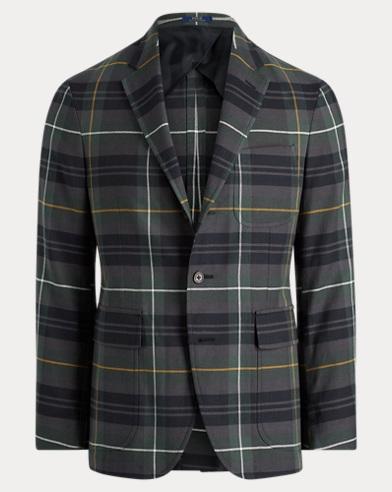 Polo Soft Tartan Sport Coat