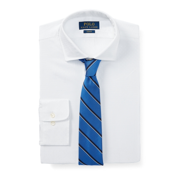Ralph Lauren Slim Fit Jacquard Shirt 2272 Blanc 15
