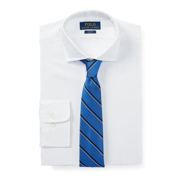 Ralph Lauren Slim Fit Jacquard Shirt 2272 Blanc 15