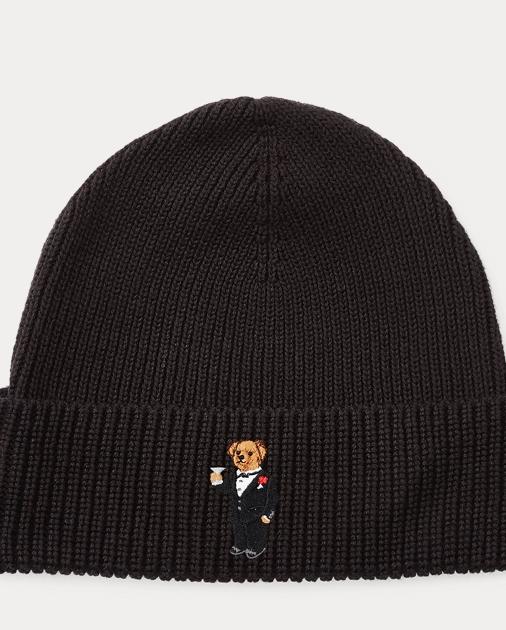 c422aadbc83 Polo Ralph Lauren Martini Polo Bear Ribbed Hat 1