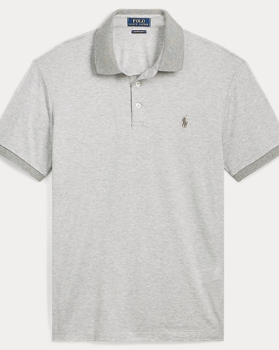 Custom Slim Fit Jersey Polo