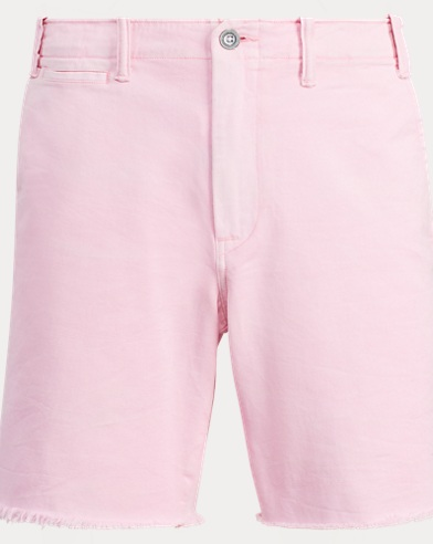 Straight Fit Cotton Short