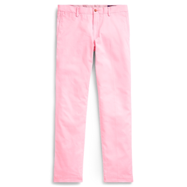 Ralph Lauren Stretch Slim Fit Chino Carmel Pink 28