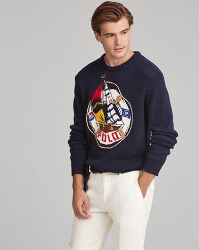 CP-93 Cotton-Linen Sweater