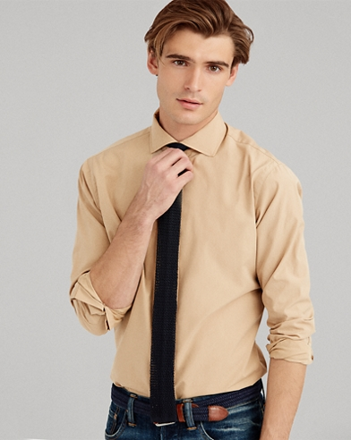 Classic Fit Poplin Shirt