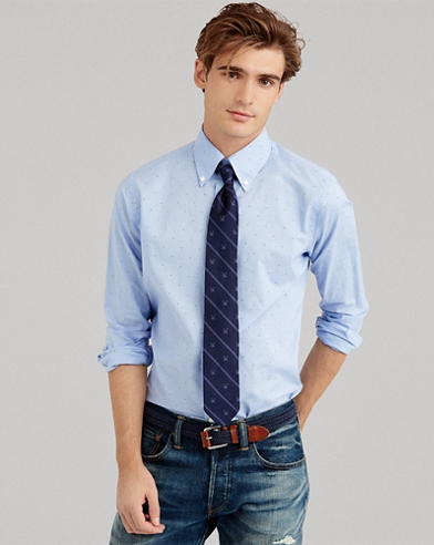 Classic Fit Patterned Shirt