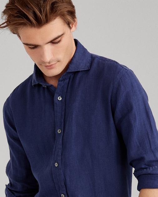 d80b26a4 Classic Fit Linen Shirt