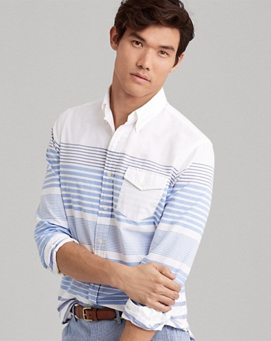 Classic Fit Striped Shirt