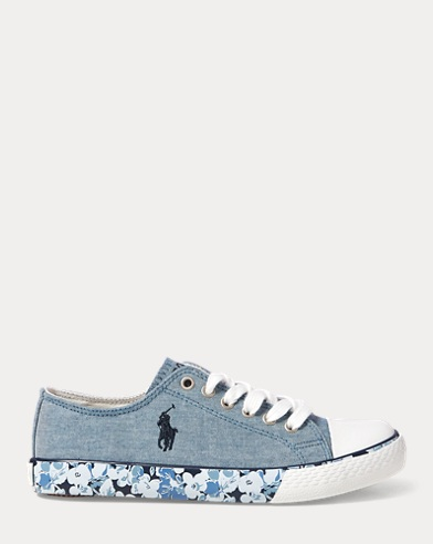 Sneaker Slone in chambray