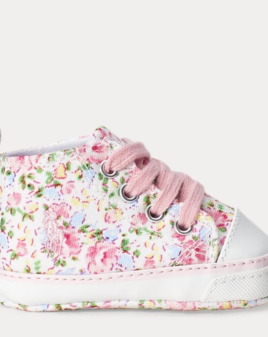 Hamptyn Floral High Sneaker