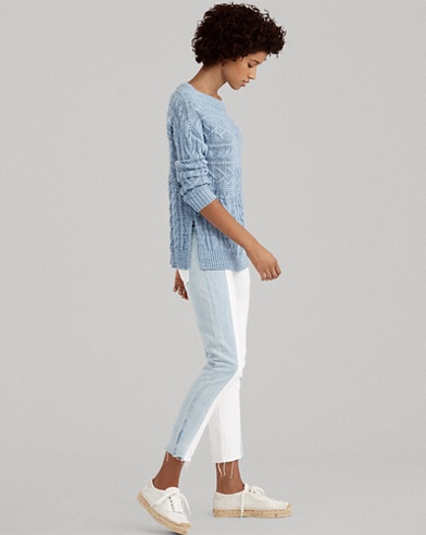 Waverly Straight Crop Jean