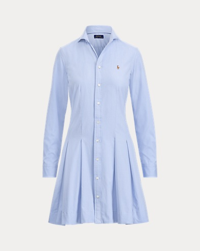 Fit-and-Flare Shirtdress