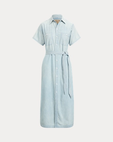 Cotton-Linen Shirtdress