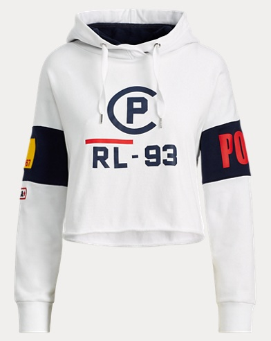 CP-93 Cropped Fleece Hoodie
