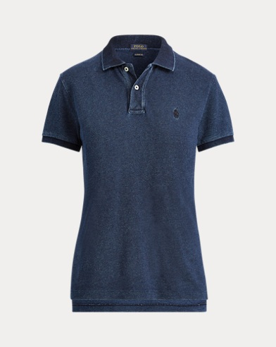 Polo con bandiera Classic-Fit
