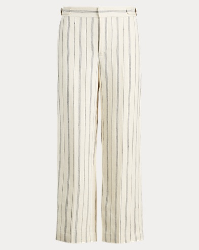 Striped Wide-Leg Pant
