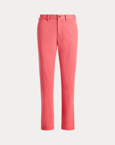 Stretch Twill Cropped Trouser