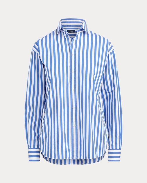 74e6b9eebb5cc Bengal-Stripe Cotton Shirt
