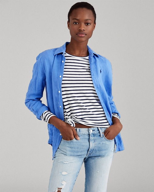 7e0dba13f4e Polo Ralph Lauren Relaxed Fit Linen Shirt 1
