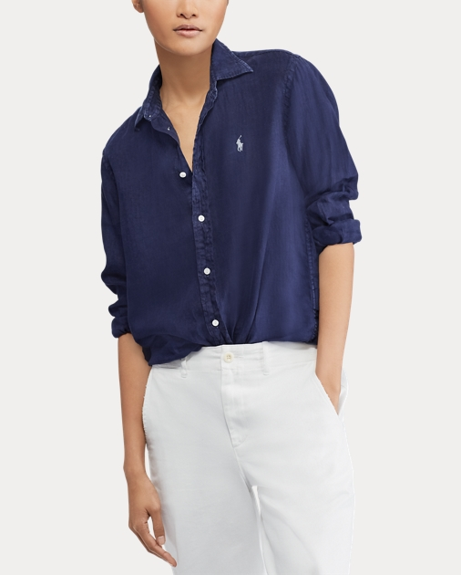 f514fd2ae Polo Ralph Lauren Relaxed Fit Linen Shirt 4