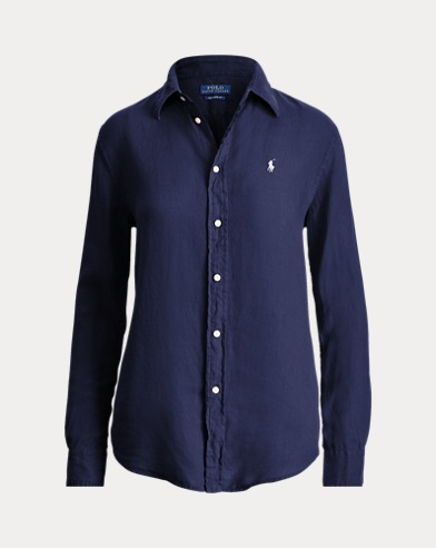 Camicia in lino Relaxed-Fit