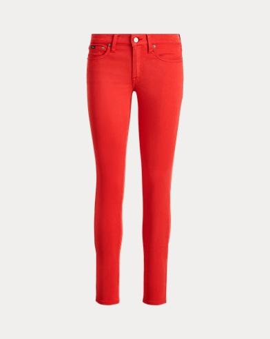 Skinny-Jeans Tompkins aus Atlas