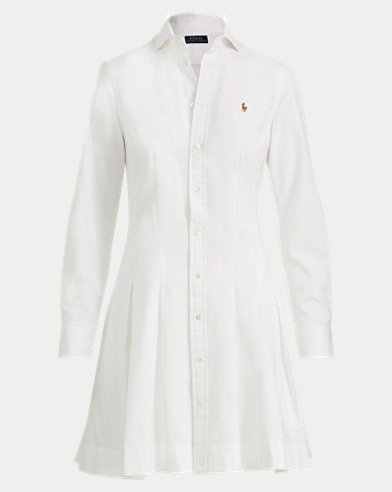 Oxford Cotton Shirtdress
