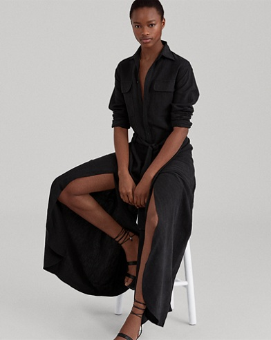 Silk-Blend Jumpsuit