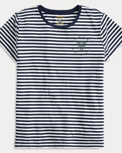 Gestreiftes T-Shirt Wimbledon
