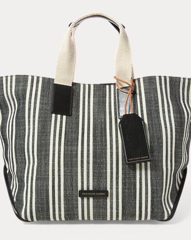 0abf82bd1c Polo Ralph Lauren. Raffia Striped Lennox Tote.  228.00  119.99. Striped  Market Tote