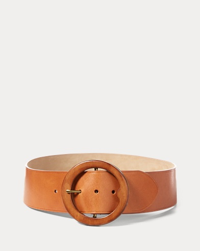 Lennox Wood-Buckle Belt